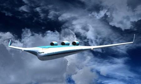 Muchos pensaban que el Boeing 797 tendría ya este aspecto. Uno de los diseños supereficientes que se están estudiando.