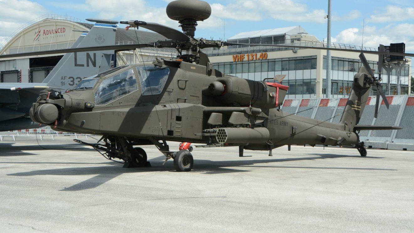 Boeing AH-64 del Ejército de Tierra de Estados Unidos.