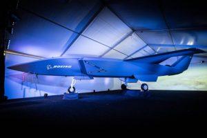 Modelo del ATS presentado por Boeing Australia cuando anunció el programa en febrero de 2019.