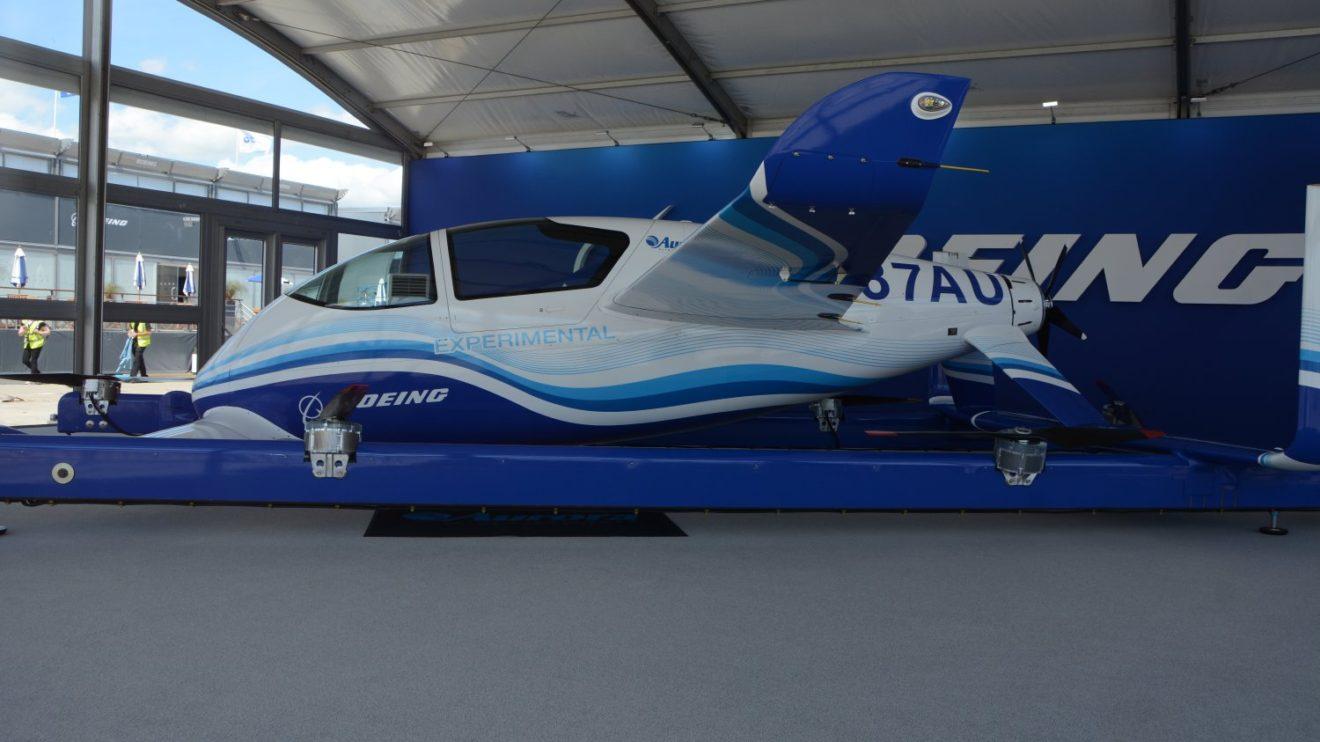 Boeing Aurora PAV EVTOL, taxi aéreo autónomo.