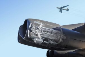 Los motores Rolls-Royce F130 se montaràn por pares como los TF33.q