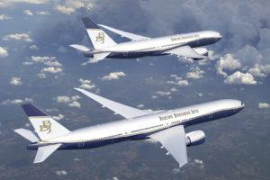 El Boeing 777X será uno de los mayores aviones ejecutivos por superficie de cabina, y el de mayor autonomía.