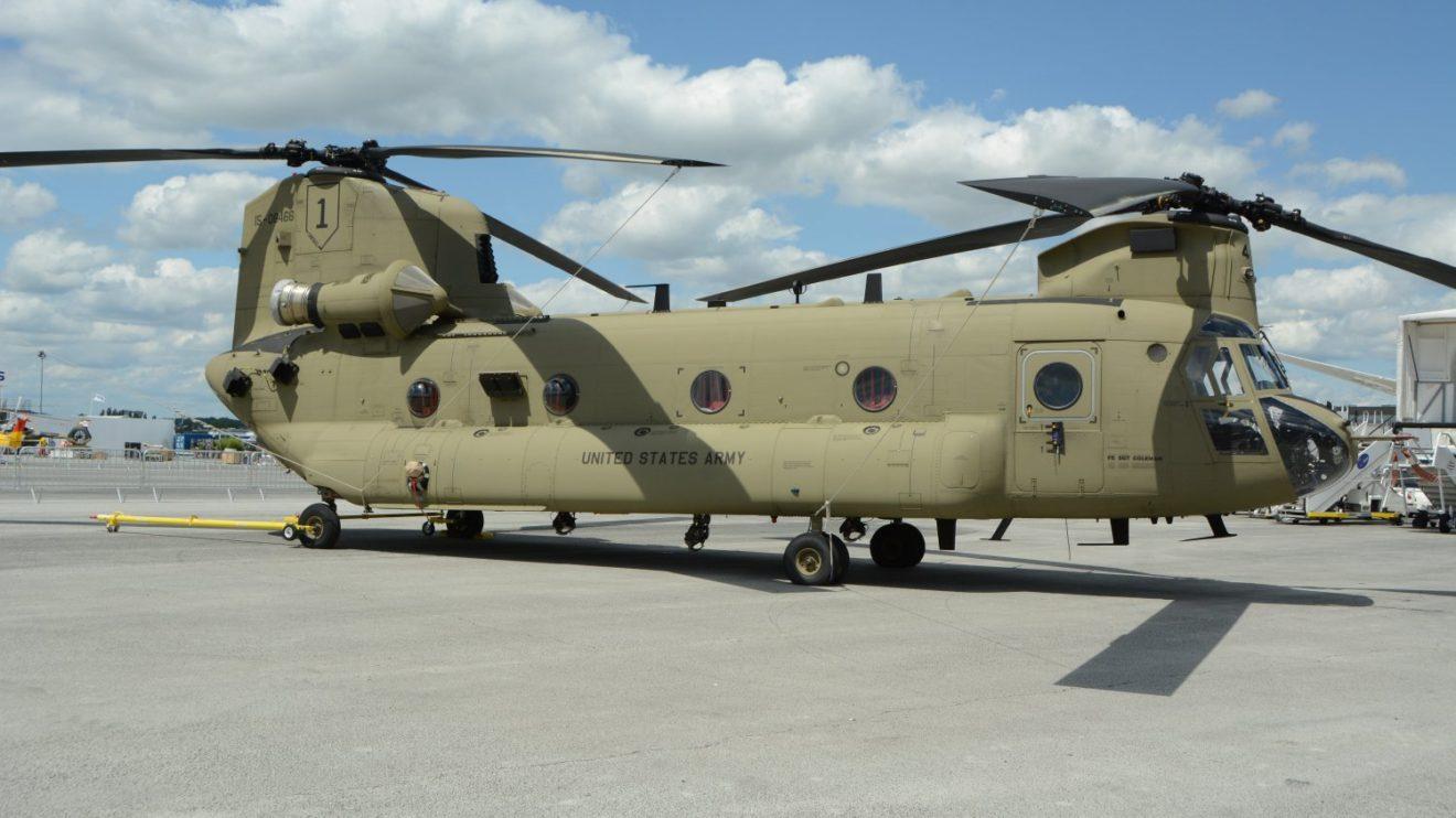 Boeing CH-47 del Ejército de Tierra de Estados Unidos.