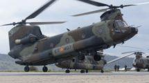 Delos CH-47D de FAMET se usarán sólo algunos componentes. El fuselaje y el resto serán de nueva fabricación.
