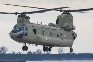 El CH-47F ha sido adquirido por ocho países de la OTAN, incluida España.