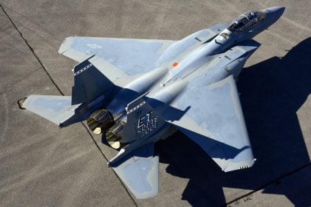 El primer Boeing F-15EX se usará para pruebas de desarrollo previas a su entrada en servicio con la USAF.