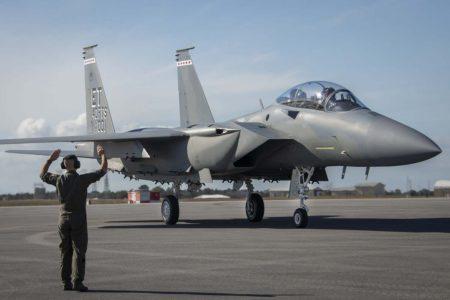 Aunque el F-15EX es biplaza, la USAF tiene previsto operarlo con un solo piloto a bordo.