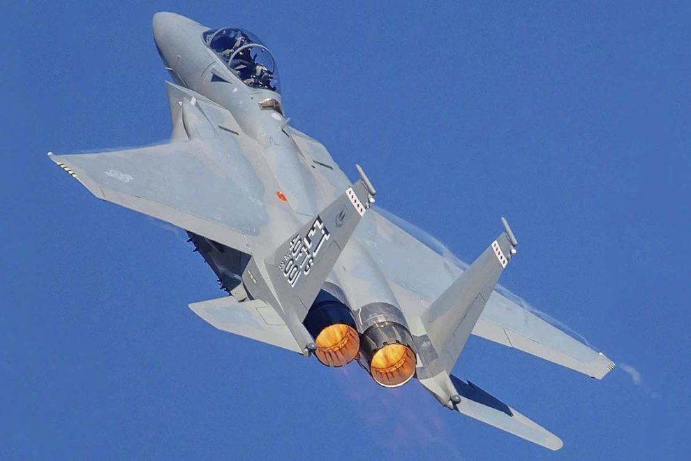 Despegue del primer F-15EX de la USA.