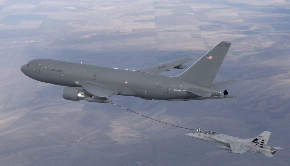El Boeing KC-46 sustituirá a los KC-135 de la USAF.