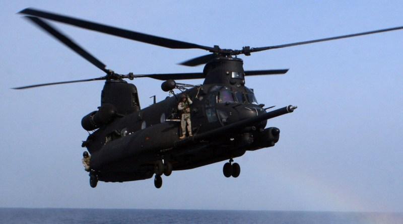 Boeing MH-47G del 160 Regimiento de Aviación de Operaciones Especiales.