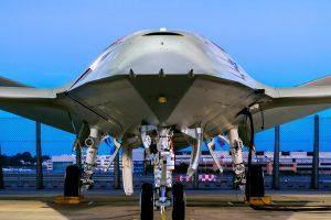 Unica imagen hecha pública por Boeing de su propuesta para el programa MQ-25.