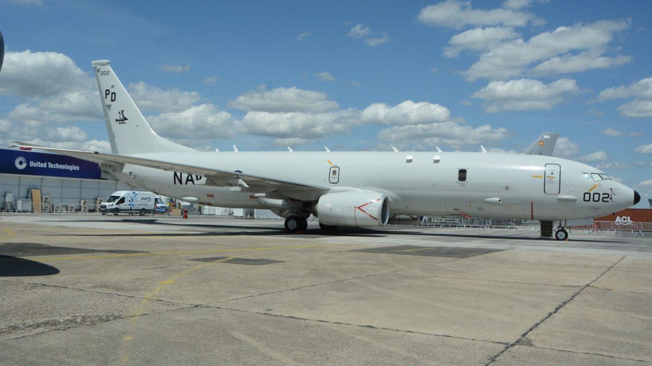 Boeing P8 de la Marina de Estados Unidos-