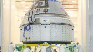 Cápsula espacial Boeing Starliner.