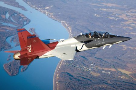 La USAF sustituirá sus T-38 con el T-7A.