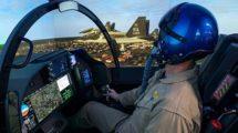 Uno de los simuladores que Boeing está usando en el desarrolo del futuro sistema de entrenamiento de la USAF.
