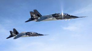 Boeing es responsable del 90 por ciento de la producción del T-X, aunque no se ha hecho público cuales son las responsabilidades de Boeing y Saab en el programa.