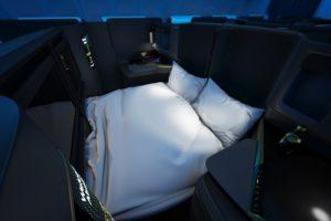 Adient Aerospace se centrará inicialmente en asientos para clase business en aviones de dos pasillos.