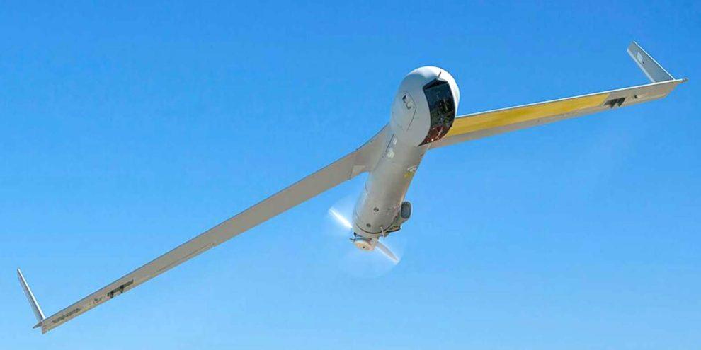 UAV Scan Eagle usado por Boeing e Insitu para las pruebas del sistema de localización de aeronaves desarrollado en Australia.