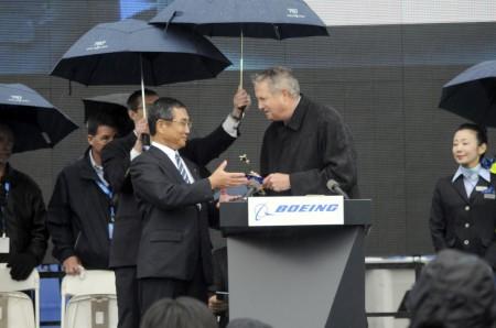 Entrega del primer Boeing 787 Dreamliner a ANA