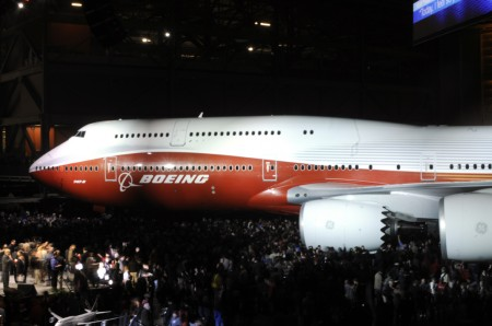 Boeing 747-8I Intercontinental