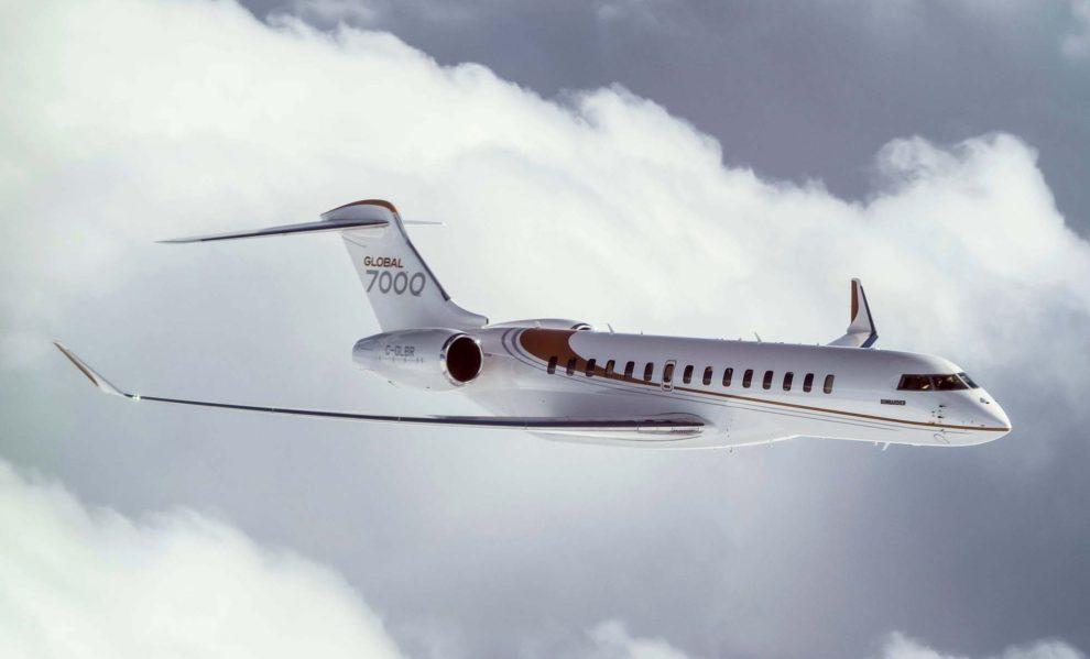 El Global 7000 forma parte de la familia Global Express.