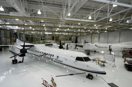 Centro de entrega de Bombardier en Montreal