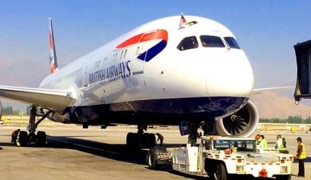 Ya en enero de 2017 British Airways ha abierto su ruta más larga, uniendo Londres con Santiago de Chile con sus Boeing 787.