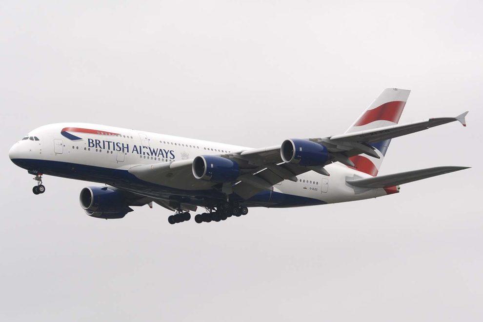 El Airbus A380 G-XLEG de British Airways será el primero de este modelo en ser almacenado en el aeropuerto de Ciudad Real.