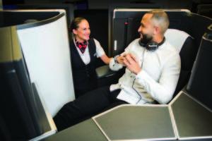 Para su nueva clase ejecutiva, British Airways ha elegido asientos Collins aerospace Super Diamond modificados.
