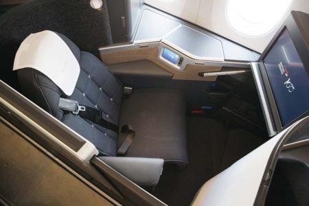 Nuevo asiento de business de British Airways en sus Airbus A350-1000.