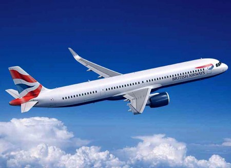 Airbus A321neo de British Airways