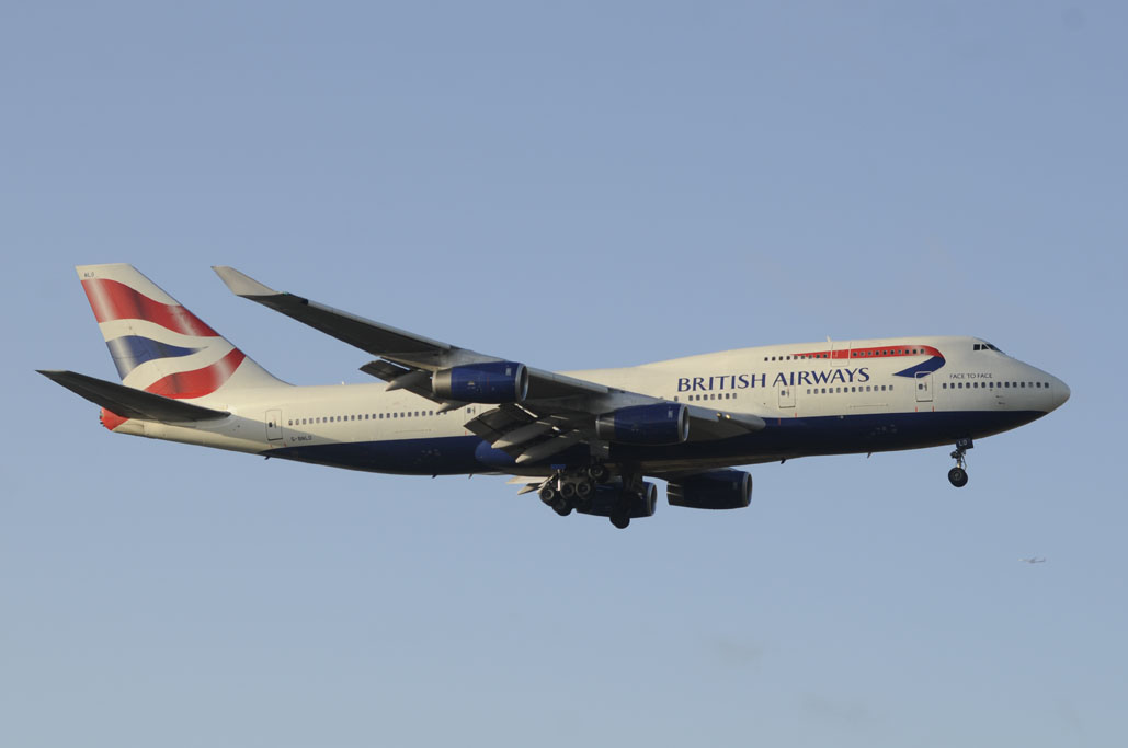 Boeing 747-400 de British Airways