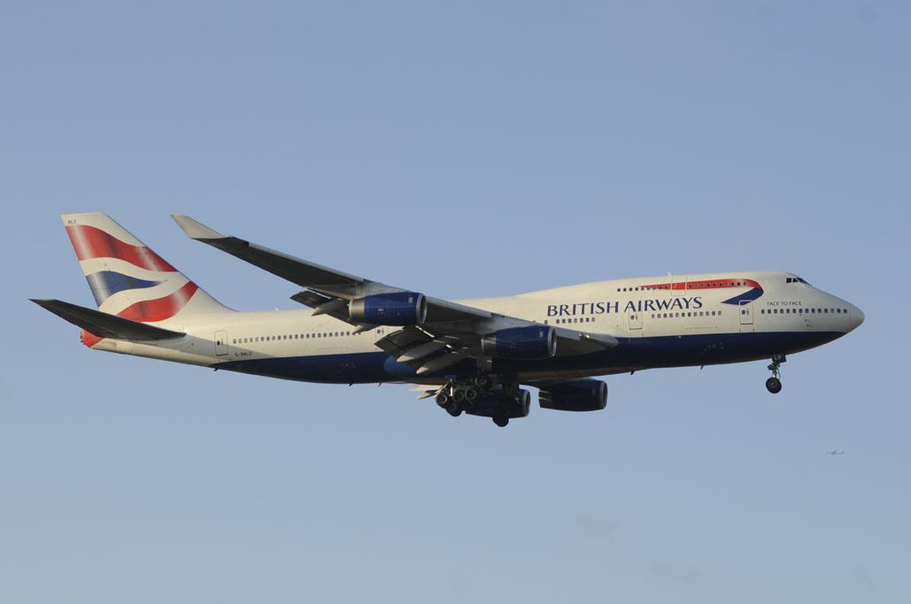Boeing 747-400 de British Airways