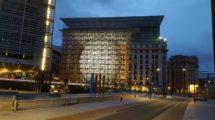 Edifico Europa en Bruselas, sede del Consejo Europeo
