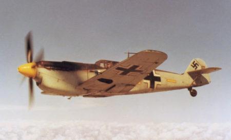 El C4K-152 fotografiado en Estados Unidos poco antes de ser almacenado.