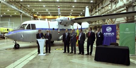 Airbus Miliatry dona un C-212 para enseñanza