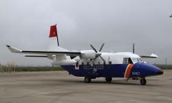 El C212 desparecido fotografiado en Sevilla poco antes de su entrega.