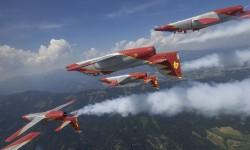 El avión de la Patrulla Águila cumple 40 años