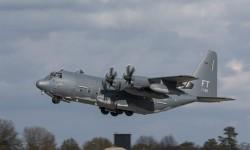 Despegue en el vuelo de entrega del Hercules número 2500.