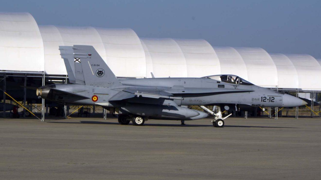 En Noruega los F/A-18 permanecerán en hangares especiales hasta la hora de volar para preservarlos de las temperaturas bajo cero que se esperan en Bodo, con máximas que no superarán los 0 grados.