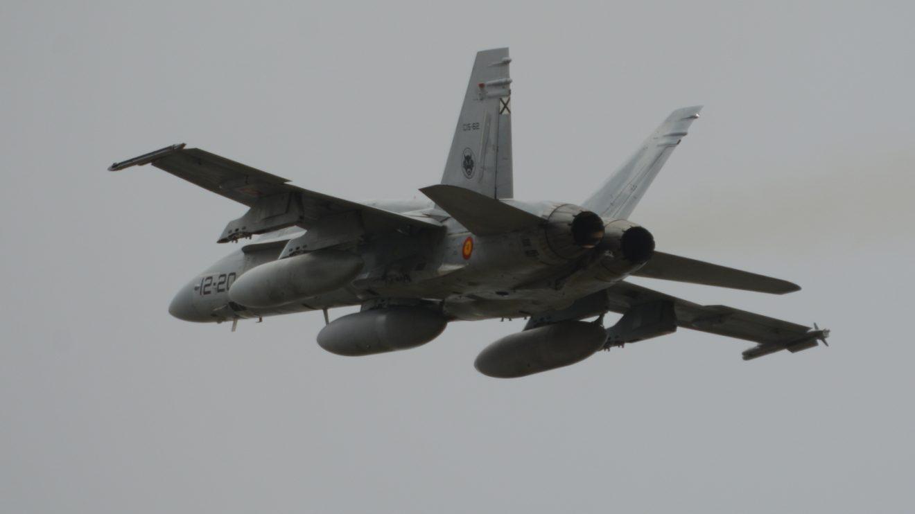 Los F/A-18 del Ala 12 cubrirán durante cuatro meses misiones de protección del espacio aéreo de las tres repúblicas bálticas.
