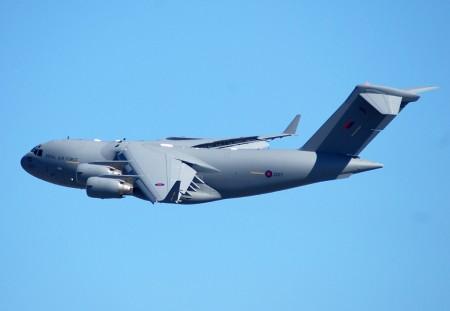 Boeing C-17 de la RAF