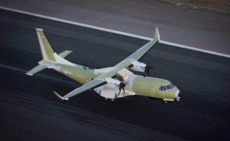 El fuselaje de los C295 del SAR canadiense  no cuenta con ventanillas.