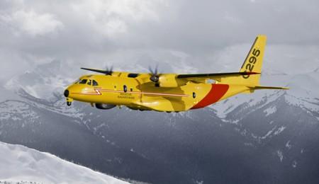 C295 con los colores del SAR de Canadá