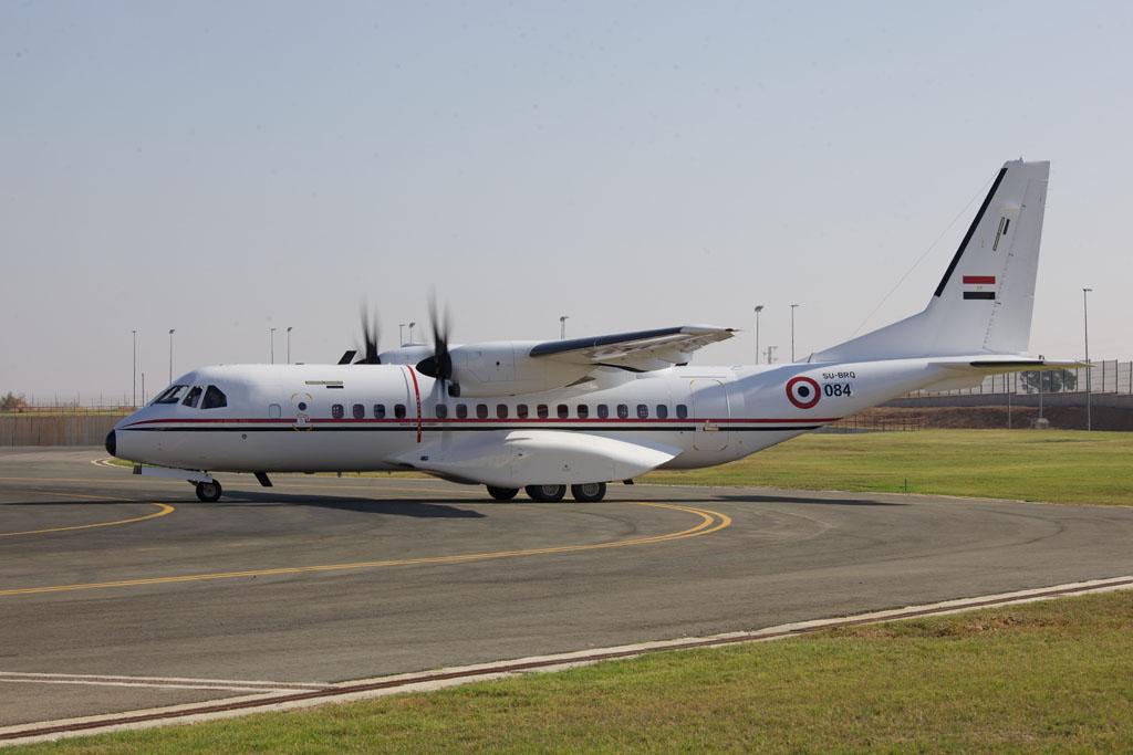 C295 de la Fuerza Aérea de Egipto