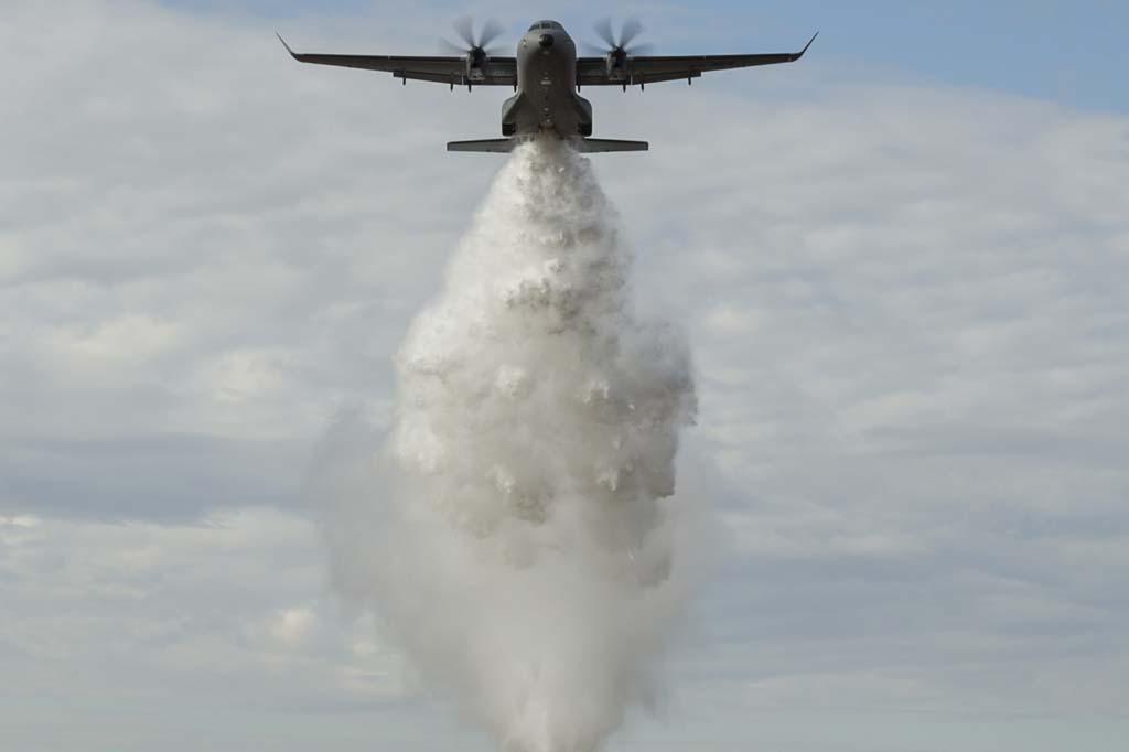 Airbus Military C295 en versión apagafuegos