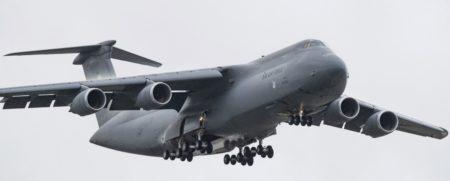 El último de los 52 C-5 modenizados es el matriculado 87-0043, el ejemplar número 129 que salió de la cadena de montaje de Lockheed.