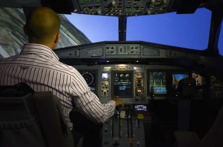 El nuevo simulador cuenta con el sistema más avanzado de visuales producido por CAE.