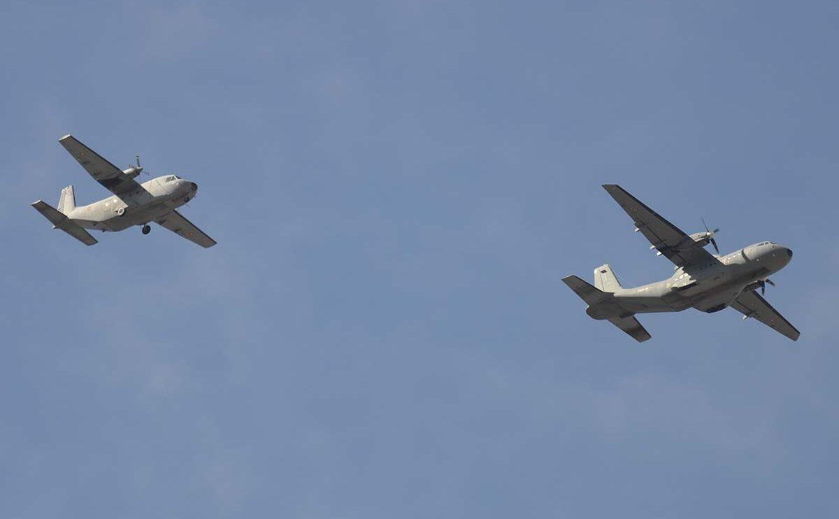 Los CASA C-212 y CN-235 son actualmente los transportes más antiguos del Ejército del Aire.