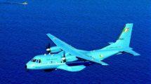 Los CN235 irlandeses se entregaron en un distintivo color azul..